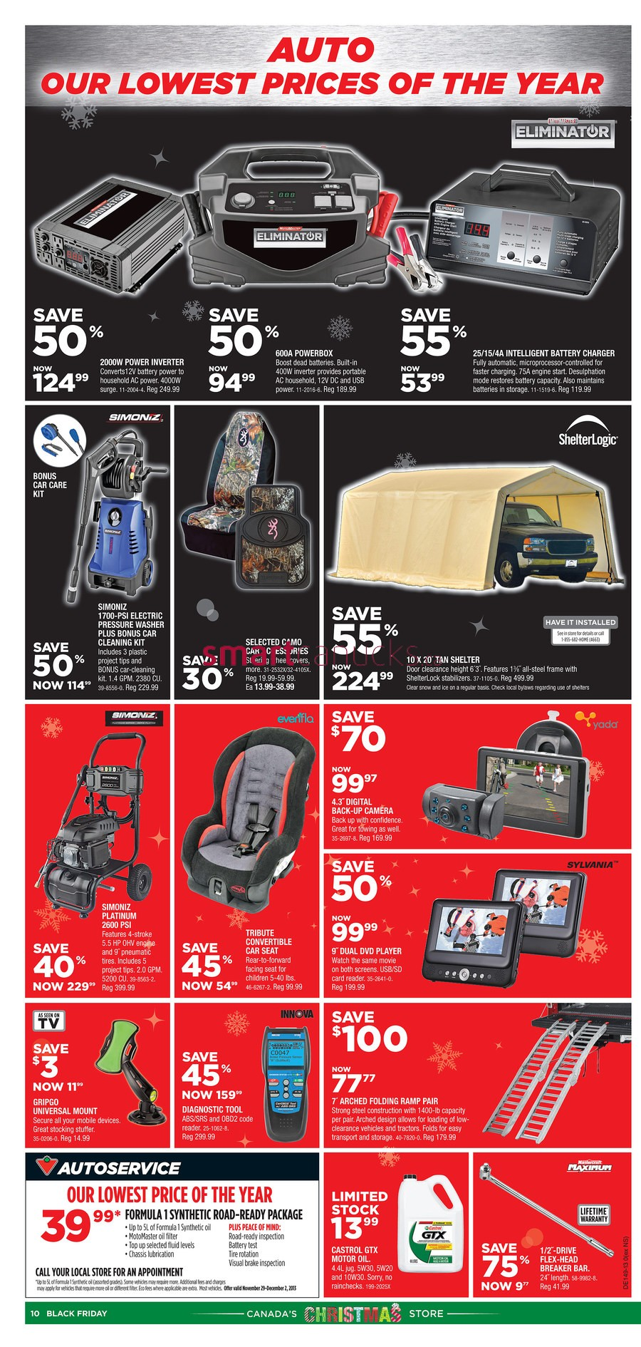 canadian tire black friday canada 2013 flyer  deals and