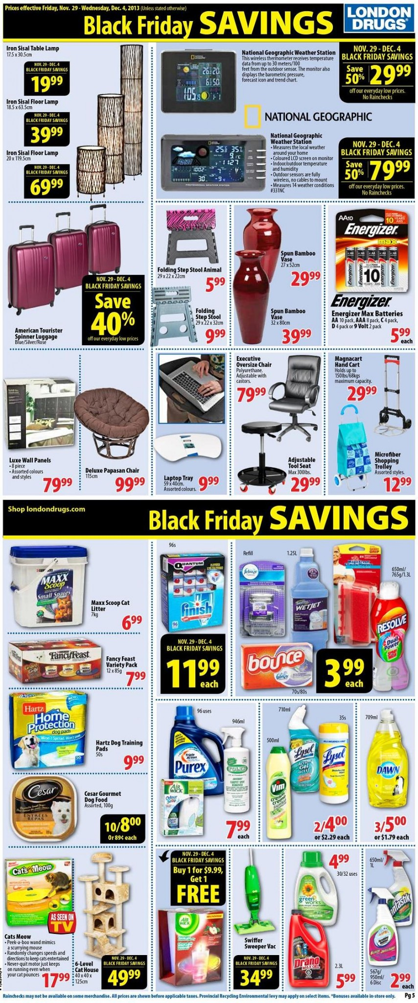 London Drugs Canada Black Friday 2013 Flyer Sales And
