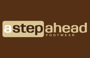 A Step Ahead Footwear logo