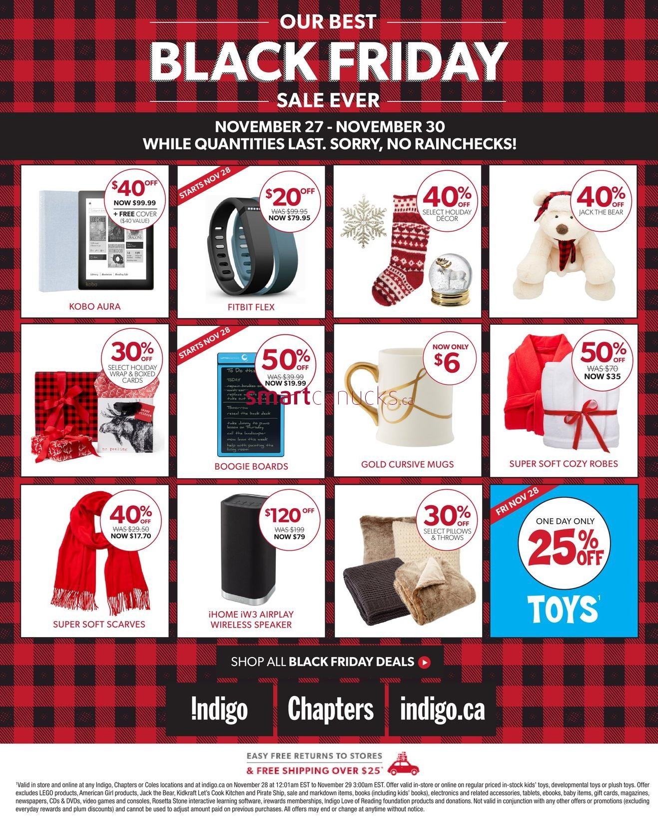 To give you the best chance for scoring the hottest deals, RedFlagDeals will showcase all the Canadian Black Friday ads and flyers for the in-store deals and the online deals. It lasts the whole weekend and is followed by the Cyber Monday one-day deals.