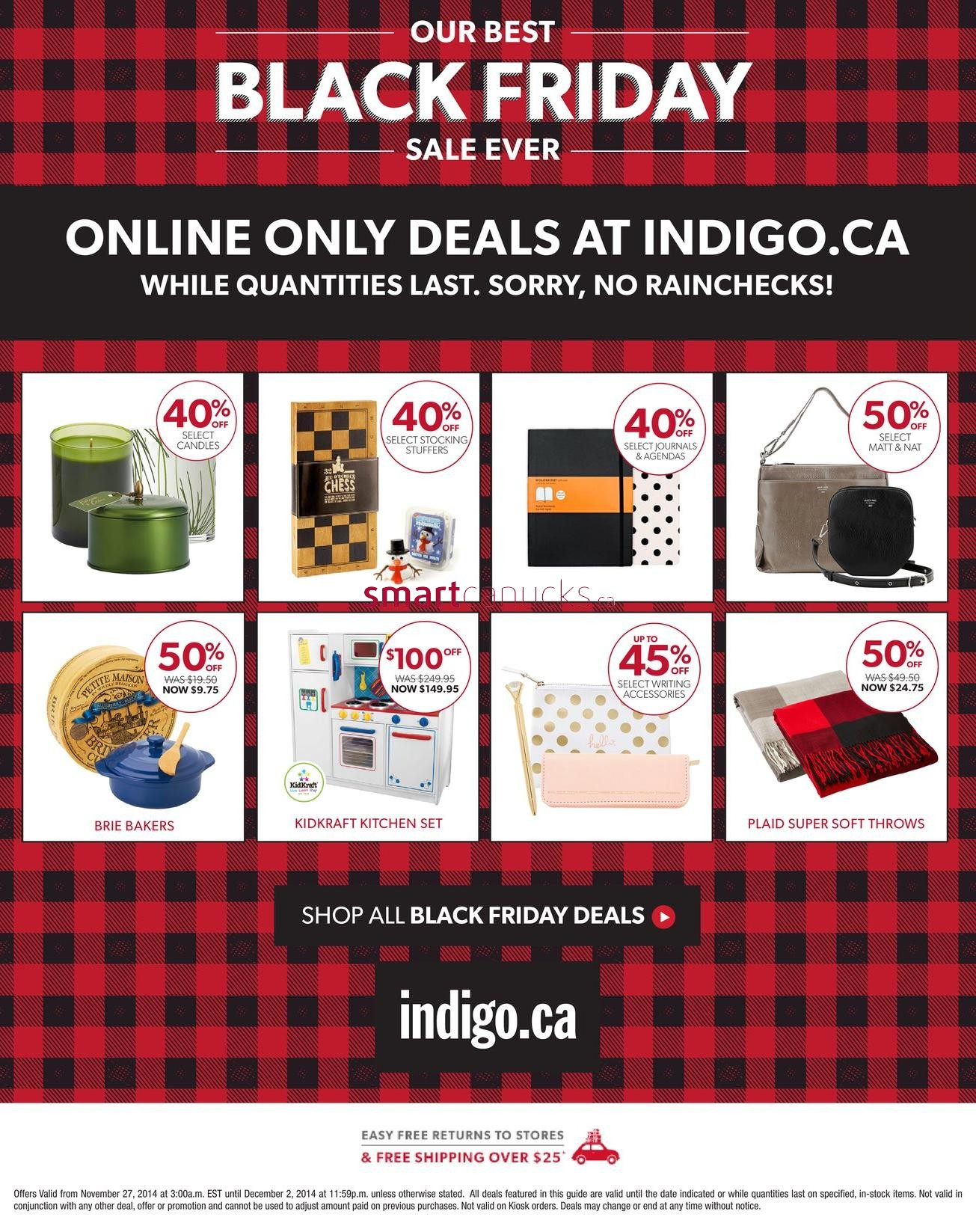 Luckily, every year there are amazing Black Friday deals Canada wide. This means you can put your passport away and indulge in a little Black Friday Canada shopping (or a lot). Start planning your holiday shopping today with Black Friday sales at Walmart.