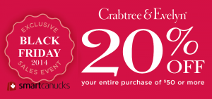 crabtree-evelyn-black-friday