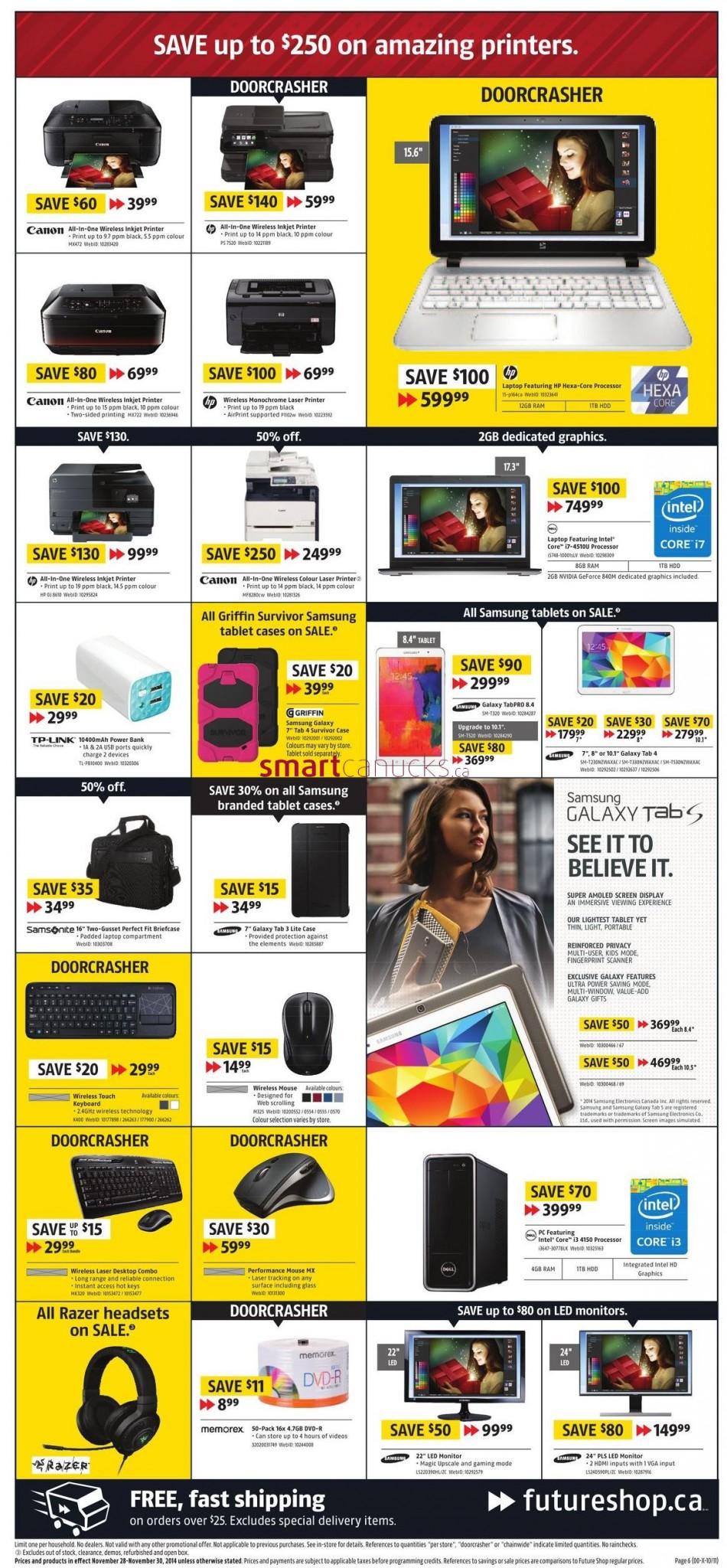 Black friday deals future shop canada 2018
