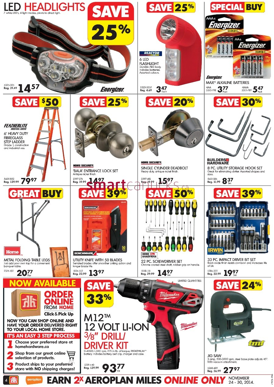 Home Hardware Black Friday Canada 2014 Flyer Sales And