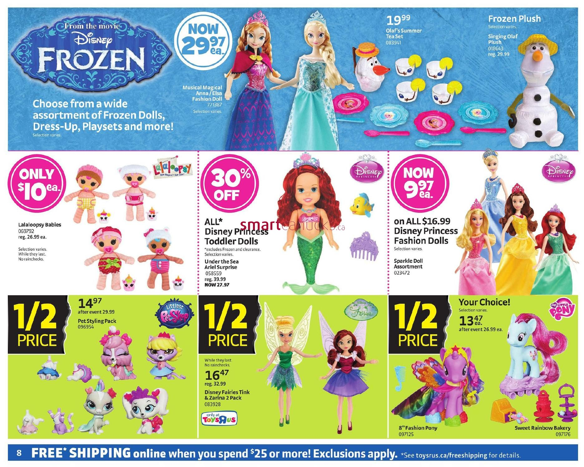 Toys R Us Canada Black Friday Snapy Pizza