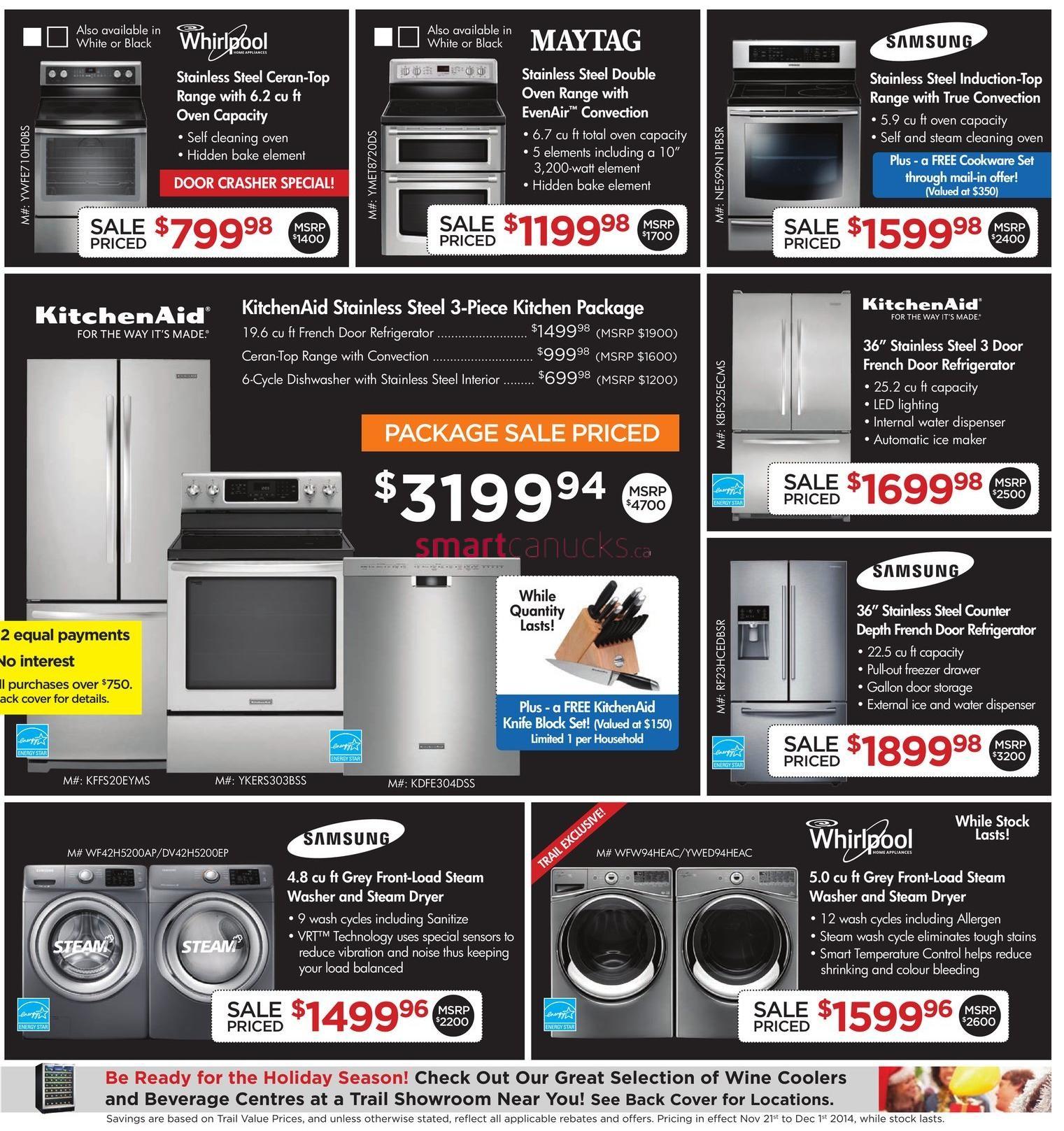 Black friday refrigerator deals 2018 canada
