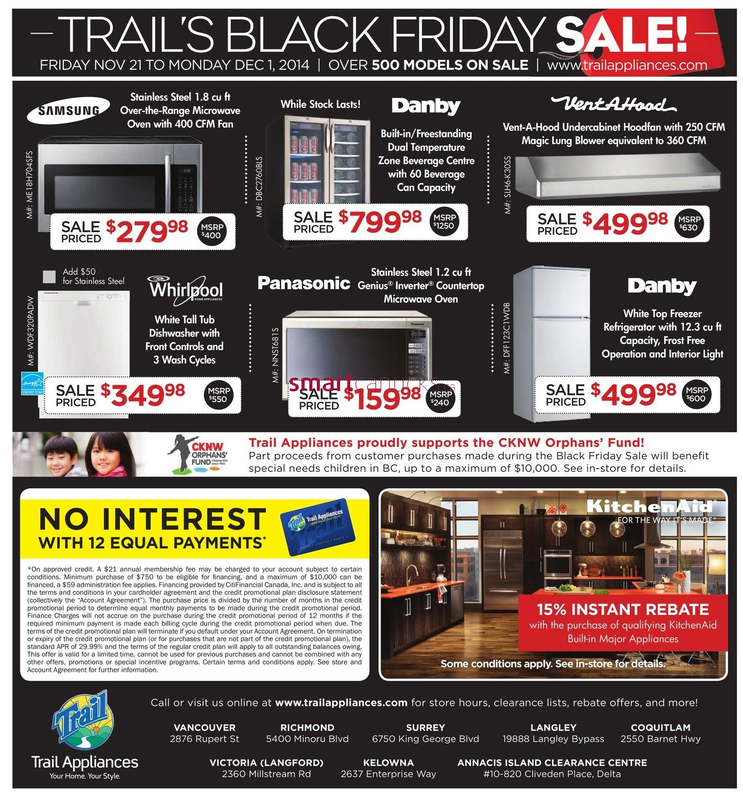 Black friday deals sears appliance