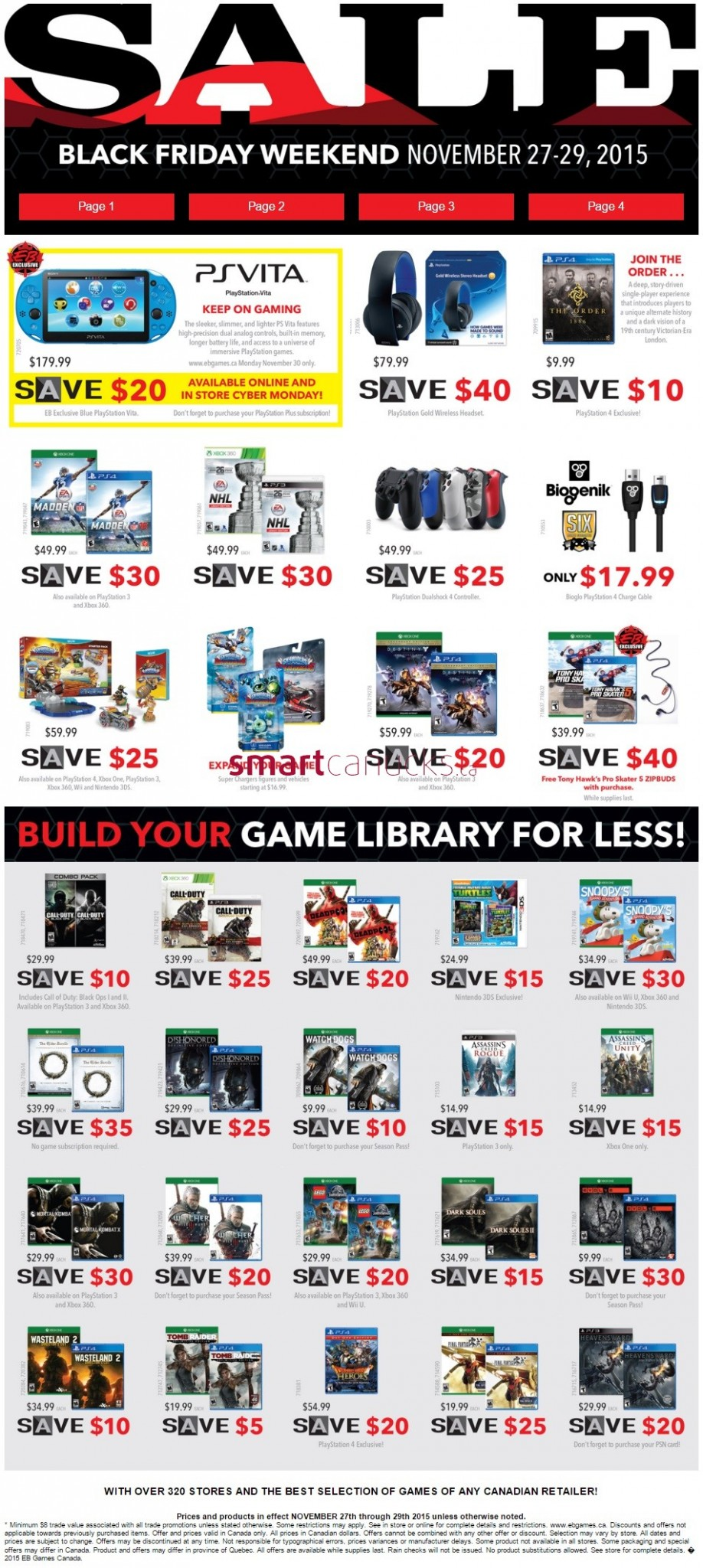 Here you can find the latest EB Games voucher codes